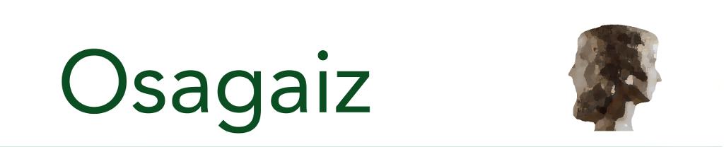 Osagaiz: osasun arloko euskal zientzia aldizkariaren logoa
